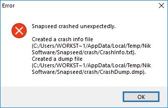 Не запускается программа Snapseed - Snapseed.png