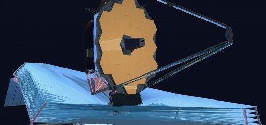 Макет телескопа Вебба