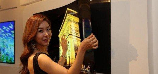 Вот, как выглядит OLED-дисплей от LG с толщиной панели 0,97 мм