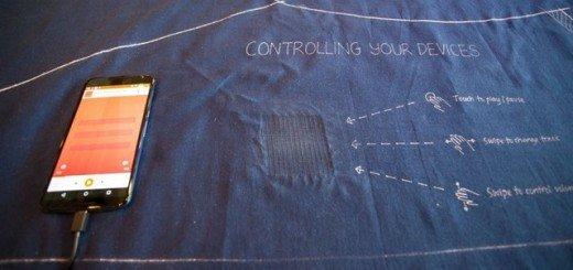 Технология создания интерактивной одежды