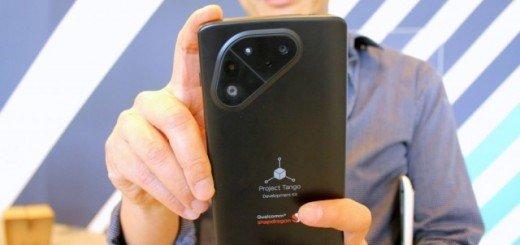 Так будет выглядеть смартфон Tango