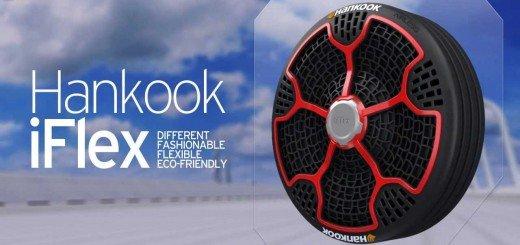 Новые безвоздушные шины iFlex